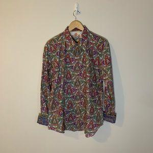 Robert Graham Paisley Button Down Shirt